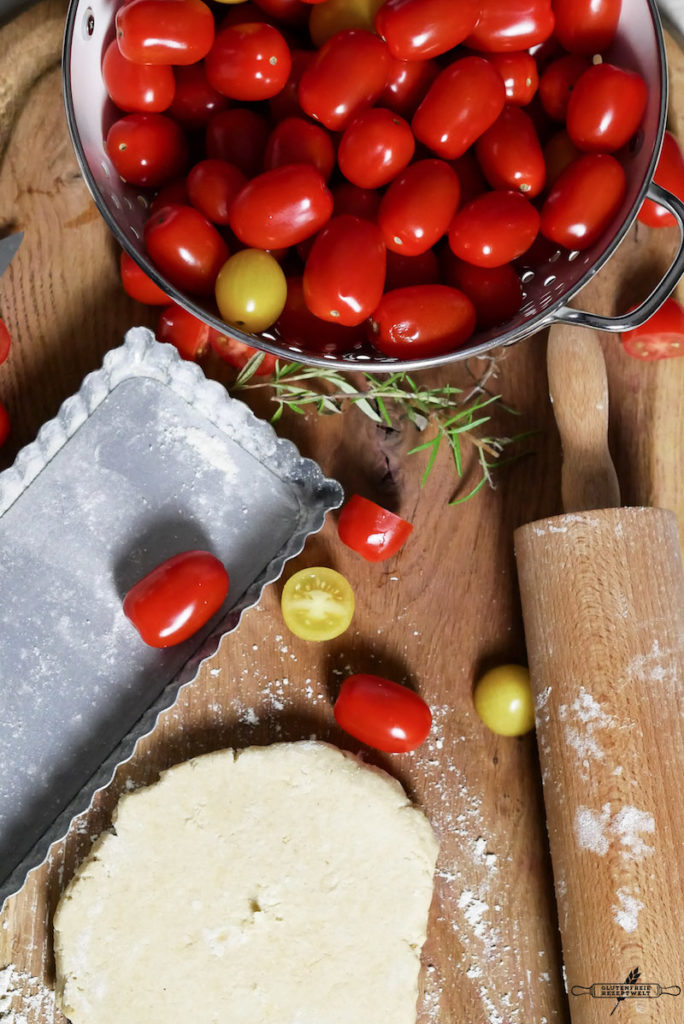 Glutenfreie Tomatentarte