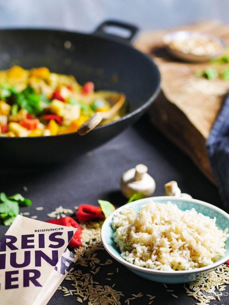 Reishunger Kürbiscurry