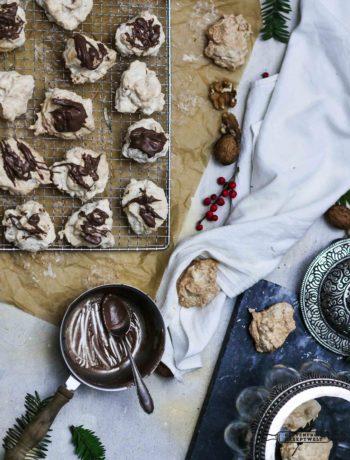 Glutenfreie Marzipan - Walnuss - Kokosmakronen