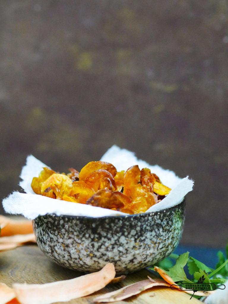 Süßkartoffel- Erdnuss- Limettensuppe
