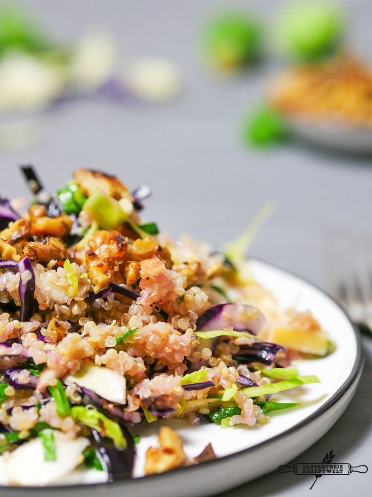 Quinoa Salat mit Winterkohl-5