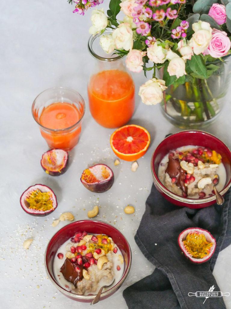 Buchweizengrütze- ein Frühstück für kalte Tage