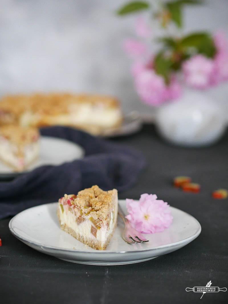 Der Wohl Beste Glutenfreie Rhabarberkuchen Den Ich Kenne Rhabarber