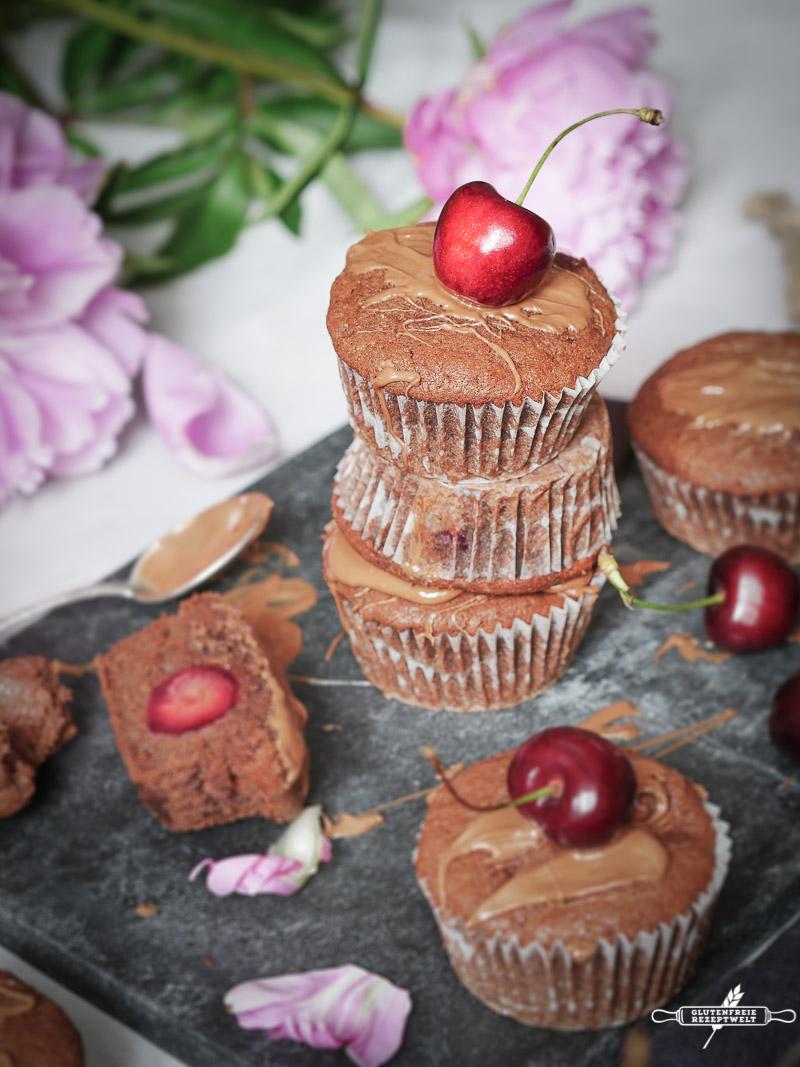 Einfach Und Sehr Saftig Glutenfreie Schokoladen Muffins Mit