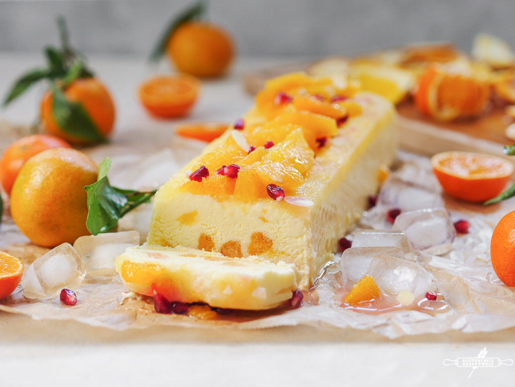 Mandarinen-Orangen Joghurt Parfait