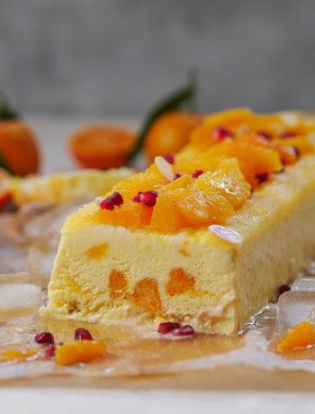 Mandarinen-Orangen Joghurt Parfait-