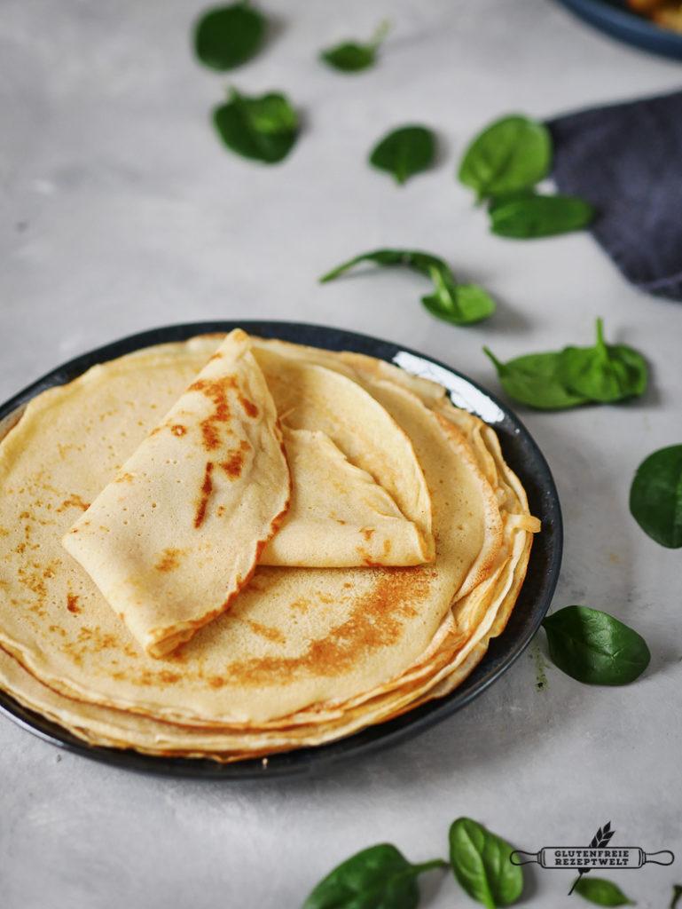 glutenfreie,Herzhafte Pfannkuchen