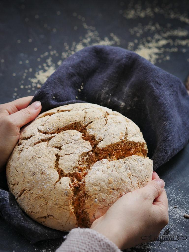Glutnfreies Brot mit Maniokmehl