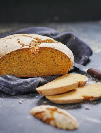 Glutenfreies Brot mit Maniokmeh
